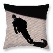 Monster Of Shadows  Throw Pillow