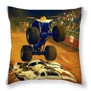 Monster Truck 1a Throw Pillow