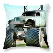 Monster Truck 6 Throw Pillow