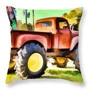Monster Truck - Grave Digger 1 Throw Pillow