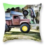 Monster Truck - Grave Digger 2 Throw Pillow