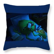 Monsters Univeristy Throw Pillow