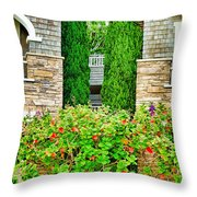 Montage Alley Throw Pillow