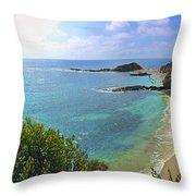 Montage Beach, Laguna Throw Pillow