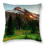 Montain Throw Pillow