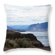 Montana Bridge Throw Pillow