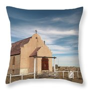 Montana Church Throw Pillow