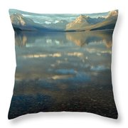 Montana Lonely Boat Throw Pillow