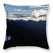 Montana Majesty Throw Pillow