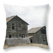 Montana Past Throw Pillow