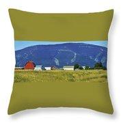 Montana Whispers Throw Pillow
