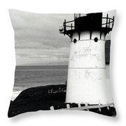 Montara Lighthouse Throw Pillow