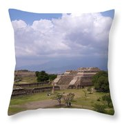 Monte Alban 2 Throw Pillow