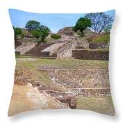 Monte Alban 3 Throw Pillow