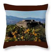 Monte Alban 4 Throw Pillow