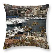Monte Carlo 10 Throw Pillow