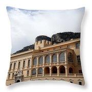 Monte Carlo 8 Throw Pillow
