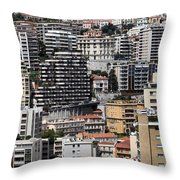 Monte Carlo 9 Throw Pillow