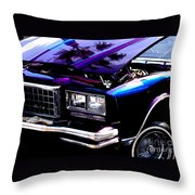 Monte Carlo Throw Pillow