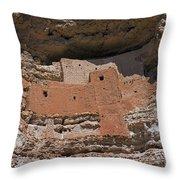 Montezuma Castle National Monument Throw Pillow