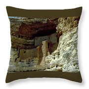 Montezumas Castle Throw Pillow
