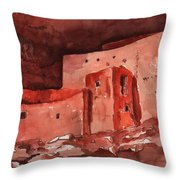 Montezuma's Castle Throw Pillow