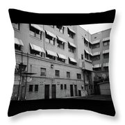 Monthly Parking Throw Pillow