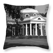 Monticello  Throw Pillow
