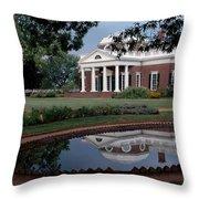 Monticello Reflections Throw Pillow