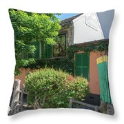 Montmarte Paris La Lapin Agile Cabaret Throw Pillow