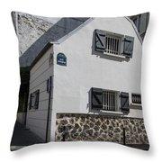 Montmarte Paris Rue Durantin Throw Pillow