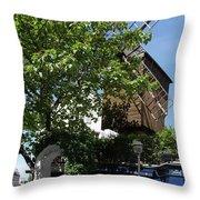 Montmarte Paris Windmill Throw Pillow