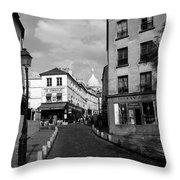 Montmarteparis France Throw Pillow