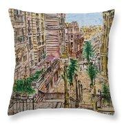 Montmarter   Throw Pillow