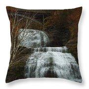 Montour Falls Throw Pillow