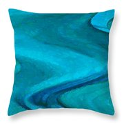 Montova Current Throw Pillow