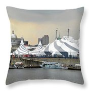 Montreal 10 Throw Pillow