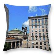 Montreal 17 Throw Pillow