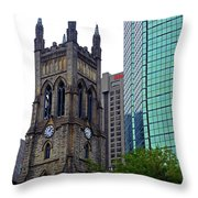 Montreal 26 Throw Pillow