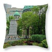 Montreal 28 Throw Pillow
