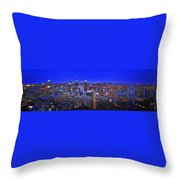 Montreal Etched Throw Pillow