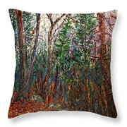 Montville Wood Throw Pillow