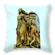 Monument Aux Morts 7 Throw Pillow