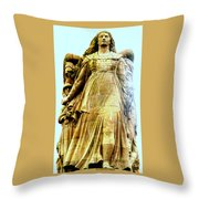 Monument Aux Morts 8 Throw Pillow