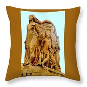 Monument Aux Morts 9 Throw Pillow