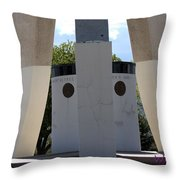 Monument Base Throw Pillow