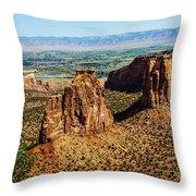 Monument Canyon Throw Pillow