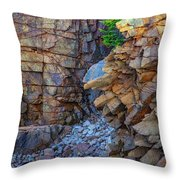 Monument Cove II Throw Pillow