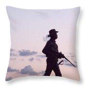 Monument Gettysburg Throw Pillow