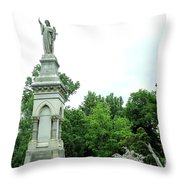 Monument Hill Throw Pillow